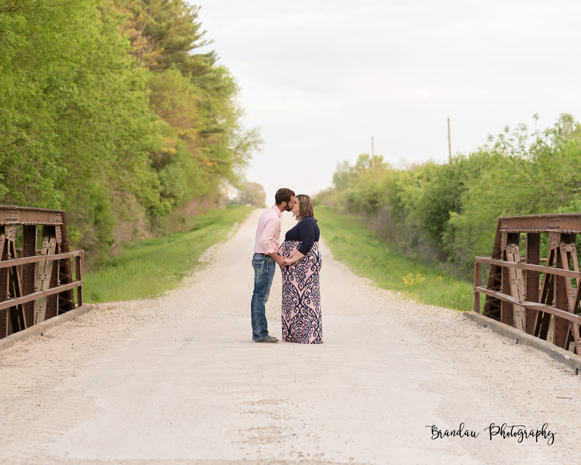 Engagement Bridge North Central Iowa_Brandau Photography-25.jpg
