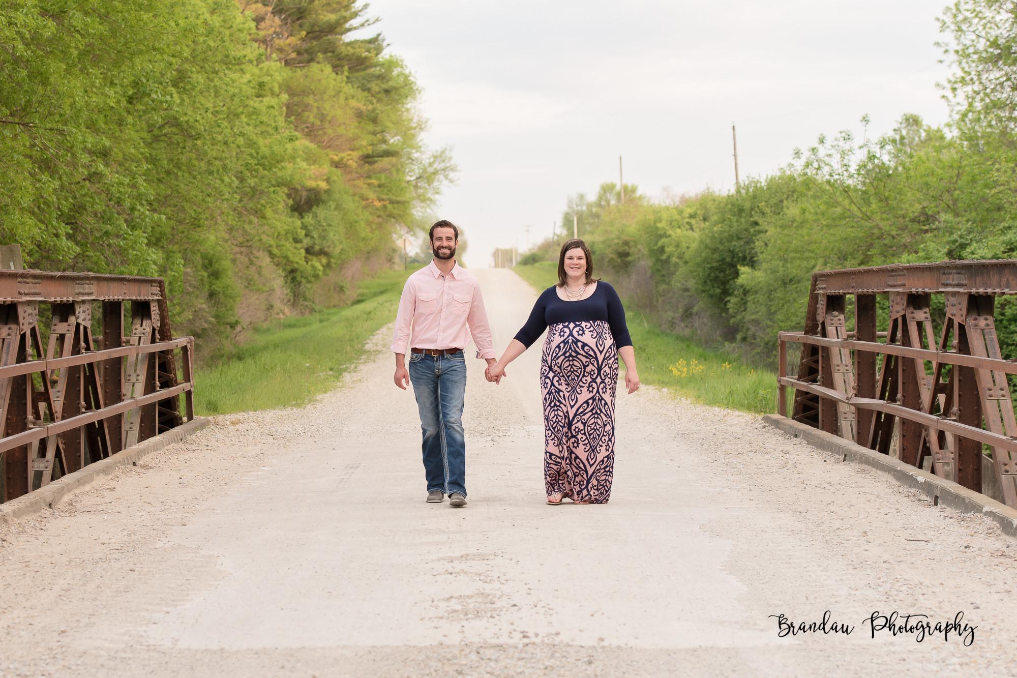 Engagement Bridge North Central Iowa_Brandau Photography-26.jpg
