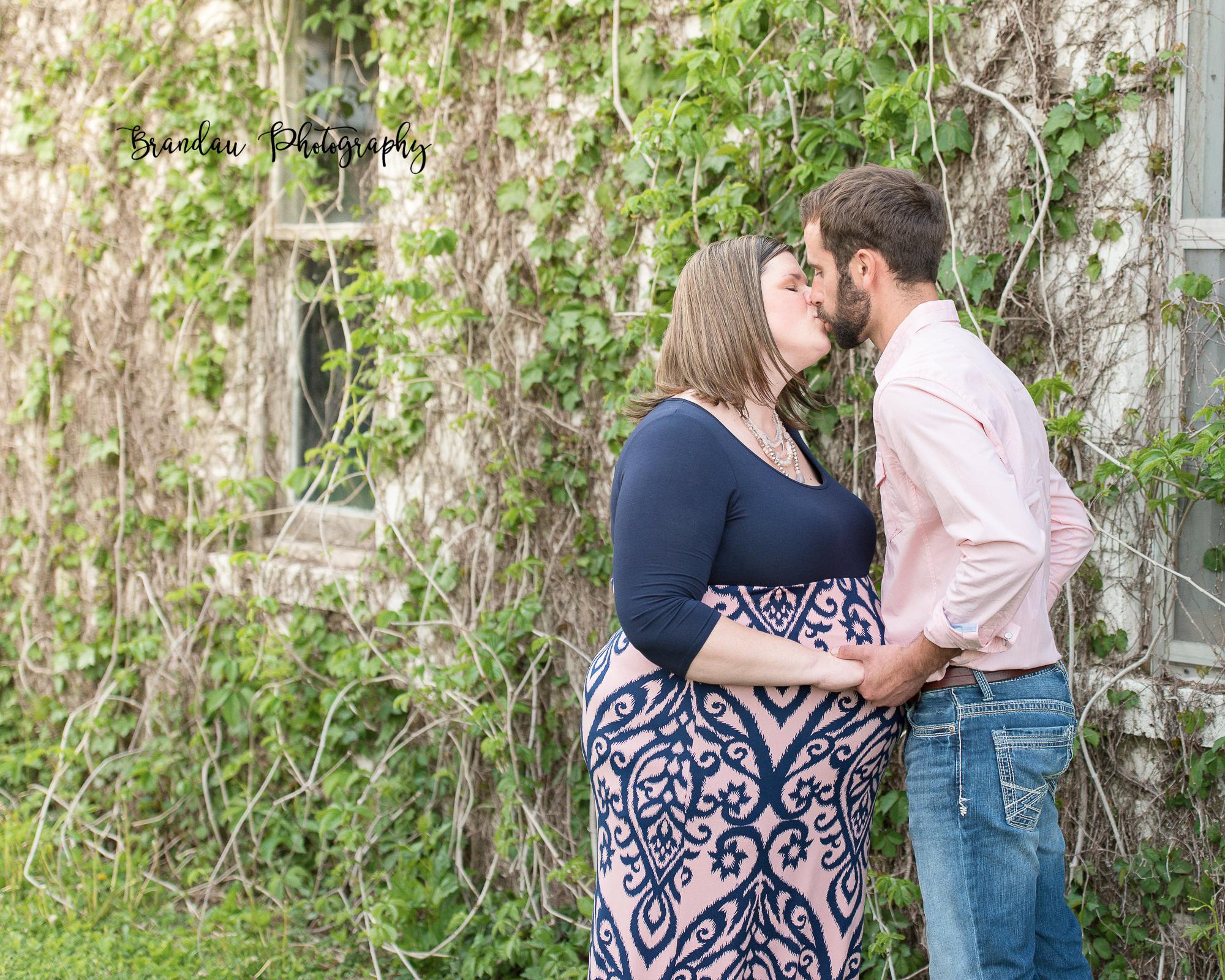 Engagement Kissing Rural Iowa_Brandau Photography-30.jpg