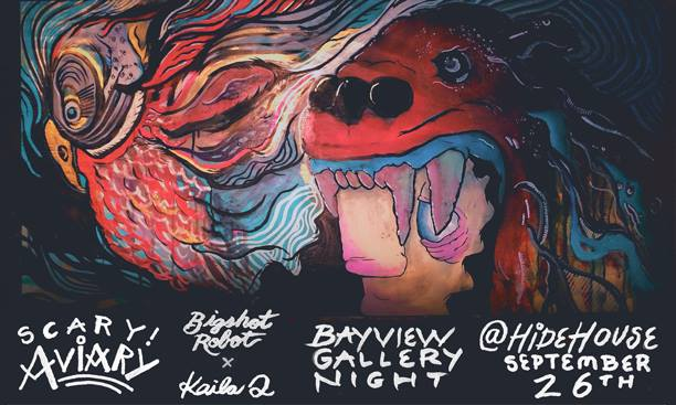For one night only, come check out this blast of birds, collection of canary counterparts, avian atrocities, far-away fowl, and rocketbooster roosters.