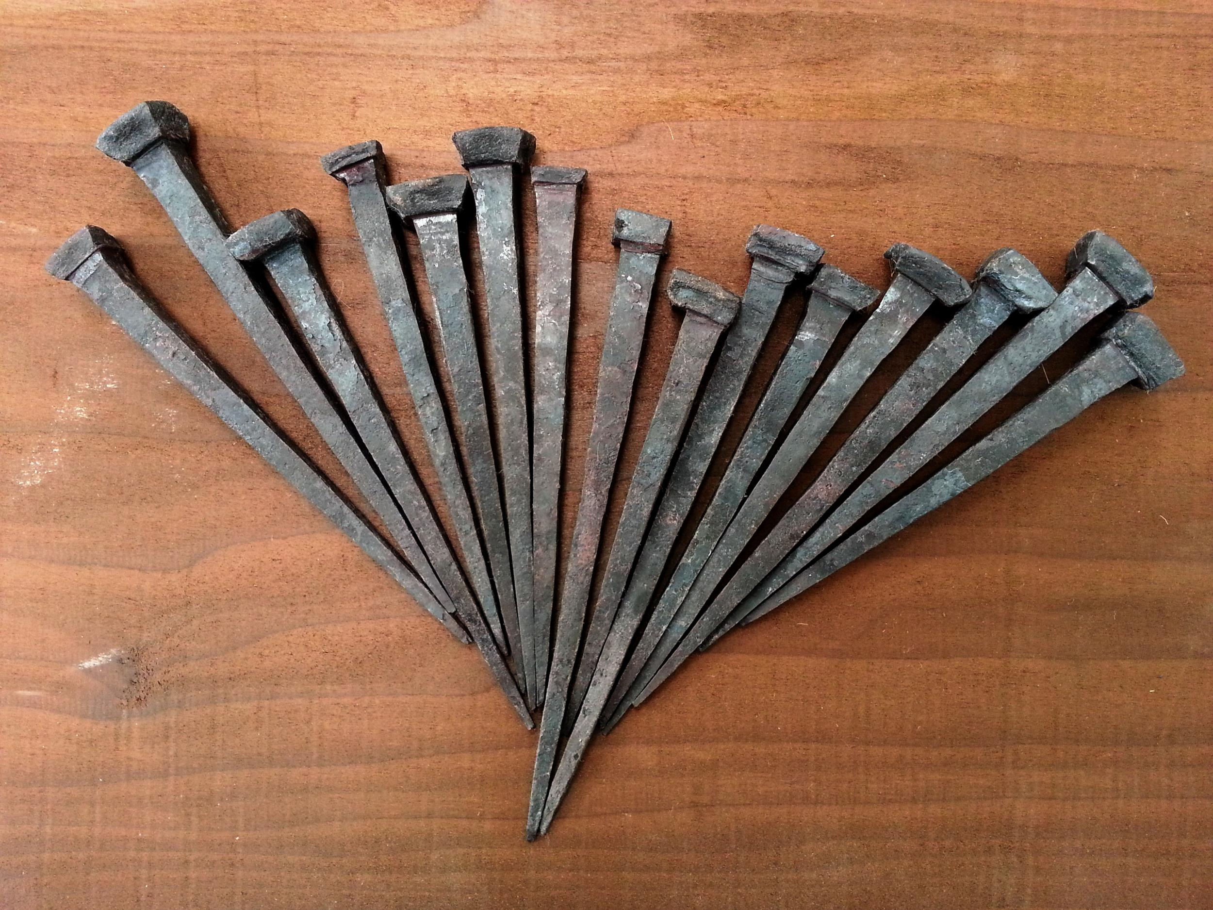fifteen nails