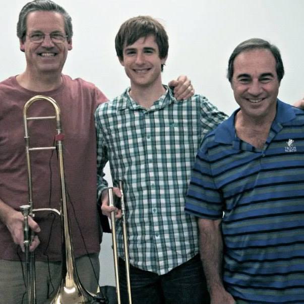 With Hal Crook and Alan Kaplan