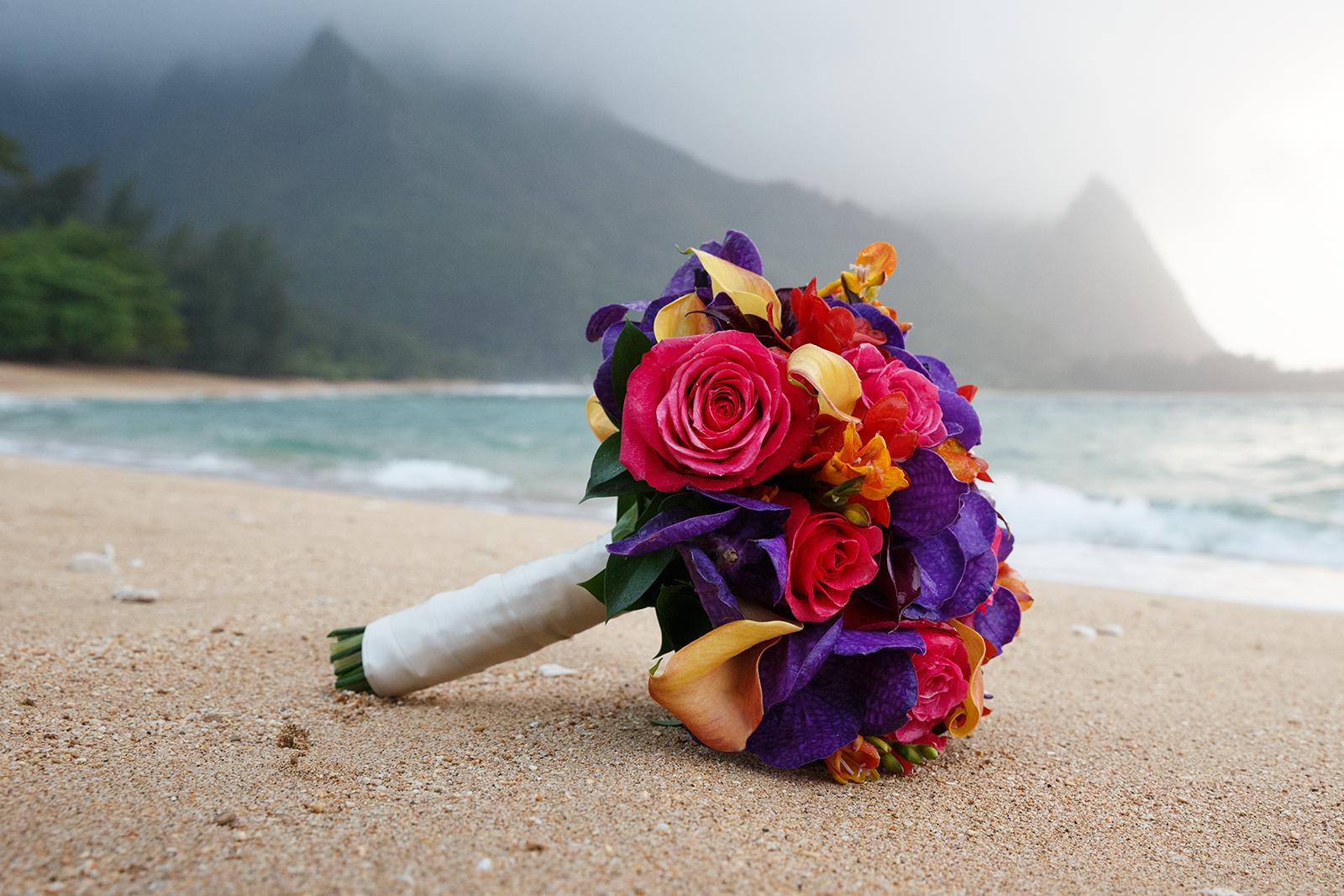 #8 Purple Vanda Bouquet