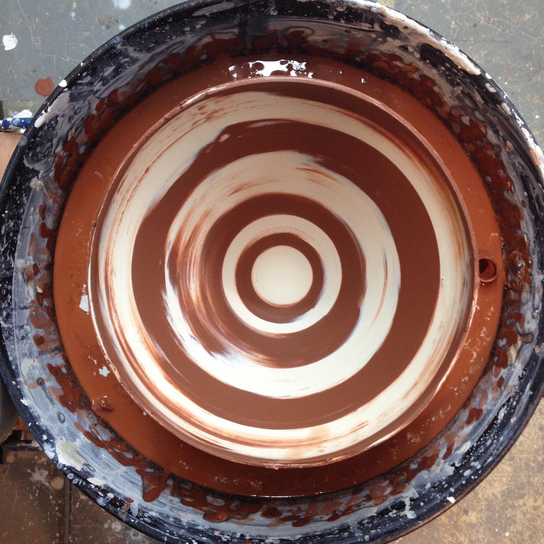 bowl on wheel
