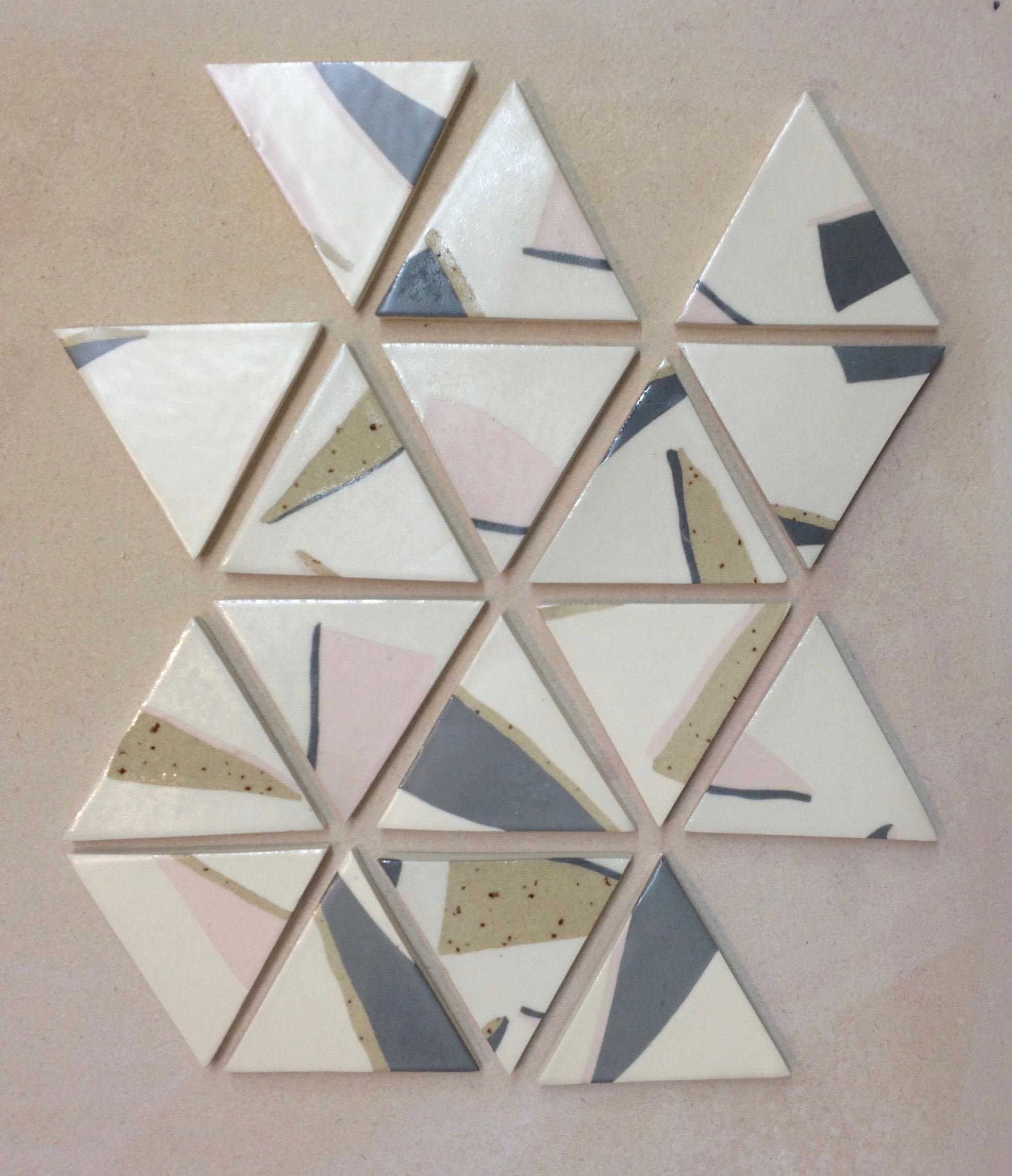 inlayed slab tiles