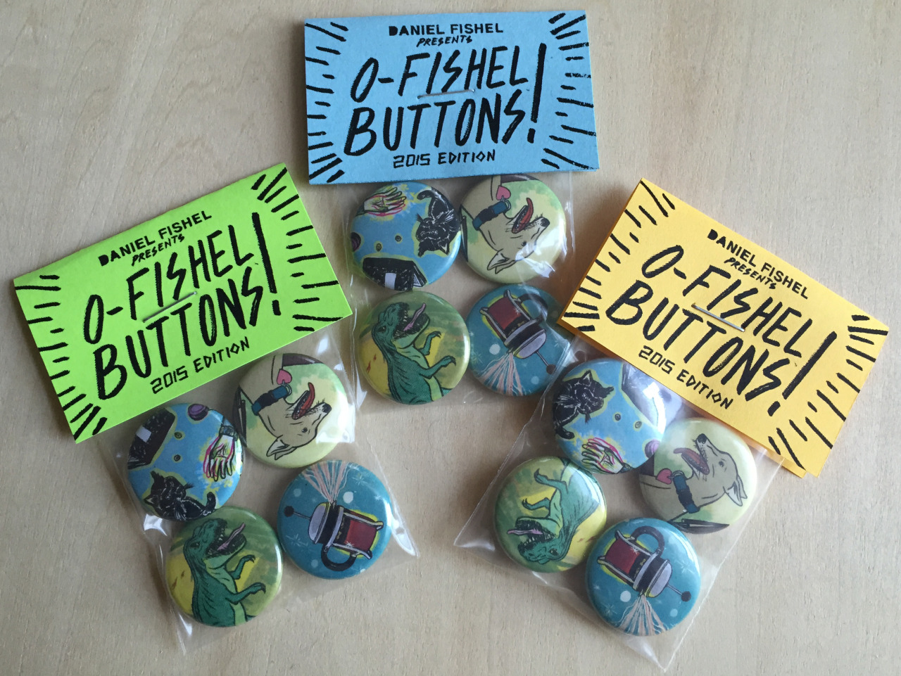 O-Fishel Buttons! - 2015 Limited Edition - $5 (Free US S+H)      O-Fishel Buttons! - 2015 Limited Edition - $5 (Free US S+H)     O-Fishel Buttons! - 2015 Limited Edition - $5 (Free US S+H)     O-Fishel Buttons! - 2015 Limited Edition - $5 (Free US S+H)     O-Fishel Buttons! - 2015 Limited Edition - $5 (Free US S+H)     O-Fishel Buttons! - 2015 Limited Edition - $5 (Free US S+H)