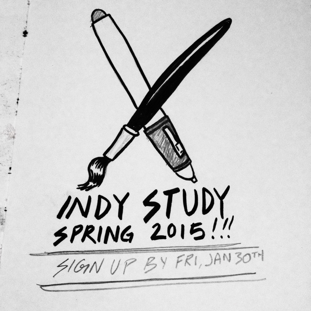 Considering taking a continuing education class in illustration, but you have a hectic schedule? Do you not want to get off your day job, pick up whatever you need for class and then drive/take public transit to a class room where you might not get 100% of the teacher's attention?   Consider taking one of my Indy Study Classes in Illustration this Spring in one of three subjects!      Editorial Illustration Portfolio - Learn the fundamentals of what makes a strong editorial piece and begin to build a series of pieces toward a portfolio made for the editorial market. We'll go over marketing, the history of editorial illustration and so much more.    Visual Story Telling - Have you considered writing a picture book or starting to write a full length graphic novel? In this class we talk about story structure and how to work on a series of images that work well together.    Lettering & Picture Making (NEW!) - Posters, Records, Book Covers, Magazine Covers… All of these at one point have been illustrated and hand lettered. Through a series of projects and exercises, you'll be well on your way to becoming an improved illustrator and hand letterer.      Head on over to my Indy Study page for more information  -  http://www.o-fishel.com/indy-study       Read what past students have said about the class and how they thought it helped them  -  http://www.o-fishel.com/testify      Space is limited to 6 students, Sign up by January 30th!