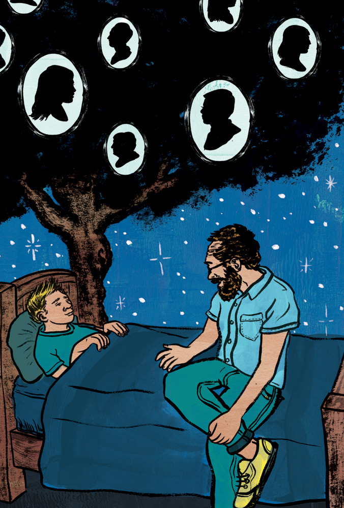 My latest Facts and Arguments piece for  the Globe & Mail  is about the stories we tell our children. At a certain point, parents need to switch gears from telling stories that are told in books and need to tell stories about their family and how they got here.    Read about it here….    Art Director: Ben Barrettt-Forrest