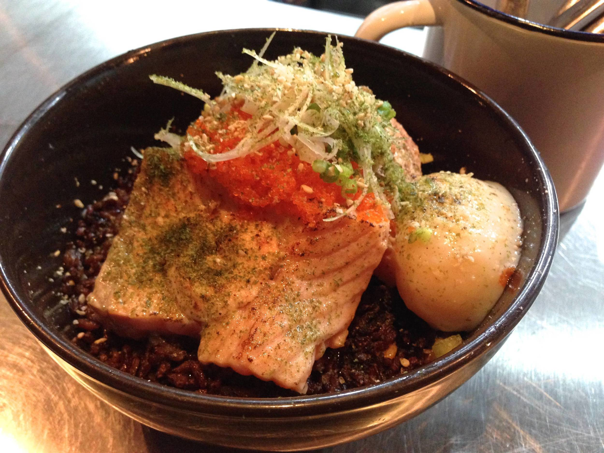 Salmon Donburi (YourLocal) Hearty eating for the healthy eaters