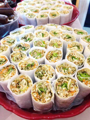 """Popiah Lah Lah (Spring By Ha Yuan) The best healthy dishes are the ones that debunk that """"healthy"""" means tasteless. Go head and chow on this!"""
