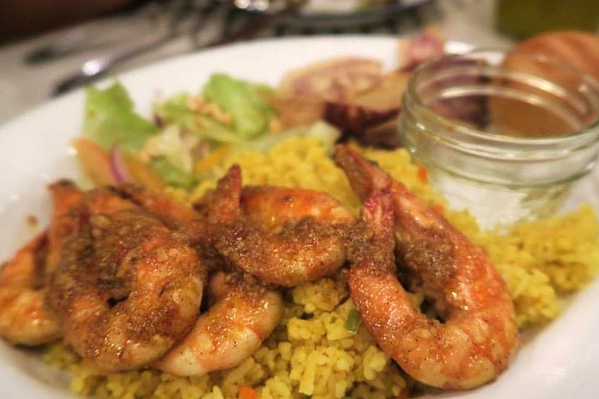 Piri Piri shrimp works too!  #SpiceBird