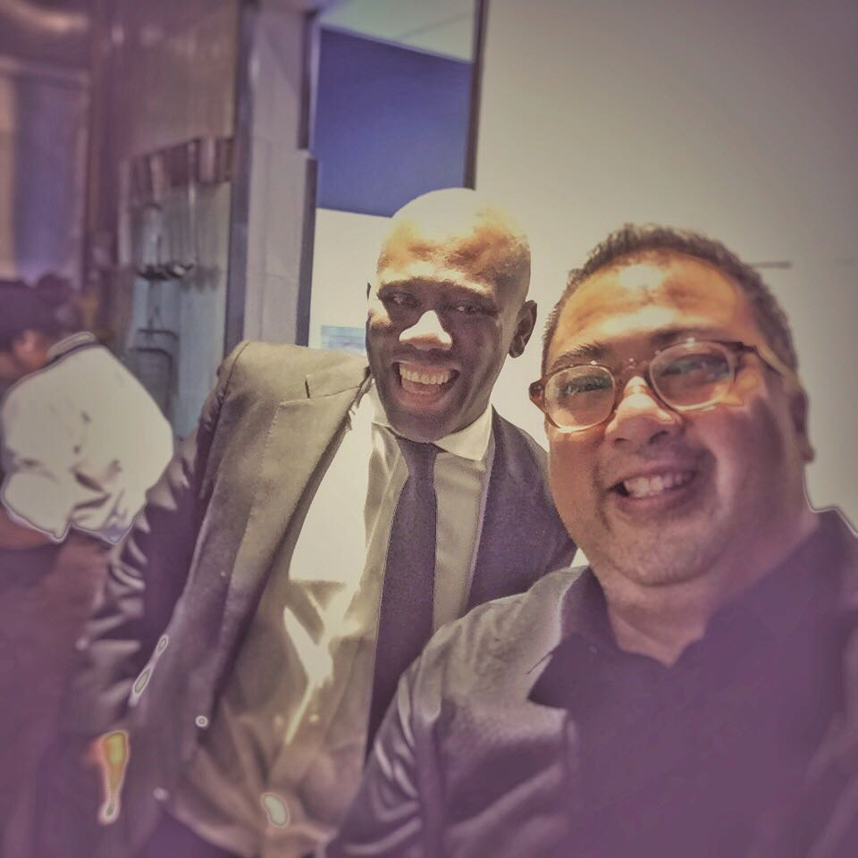 Had the pleasure of meeting the affable Mr Eddie Baffoe, Managing Director, beverage specialist, and one of the principals of   #RubyJacks  Steakhouse & Bar at   #CityOfDreams  .