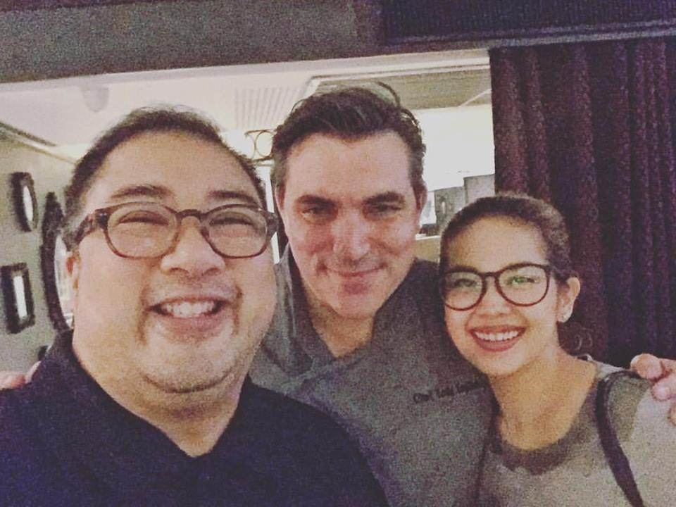 With Chef Todd English and Bea Acosta