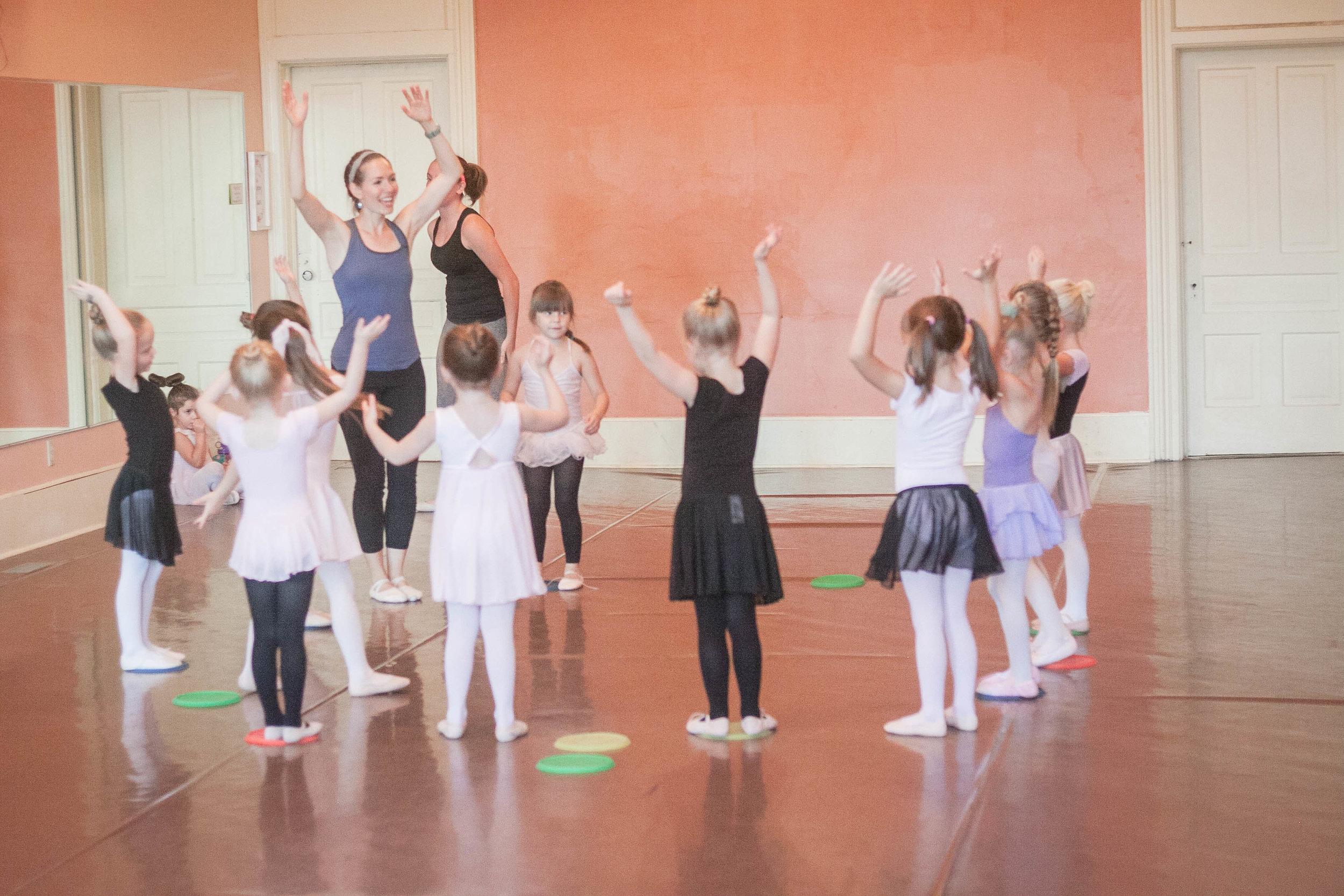 Dance Fundamentals (Tues.)