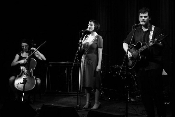 Launching The Acfields' album at The Toff in Town