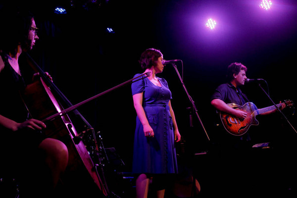Launching The Acfields' album at The Toff in Town, September 2014. Credit  Barry C Douglas