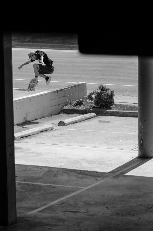 No-Comply from Sprawlers issue 2. Photo: Markin