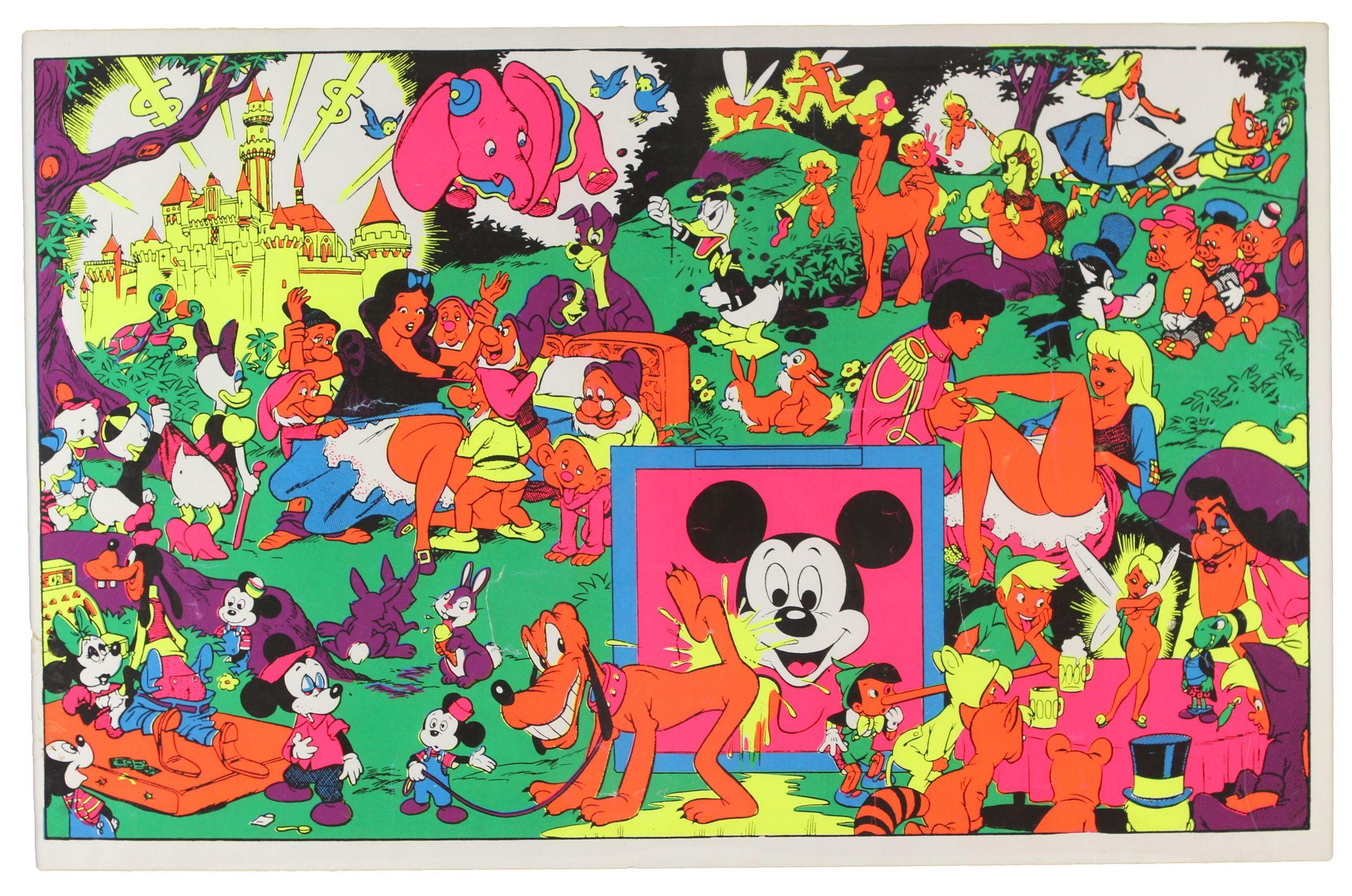 Dirty Disney,Wally Wood c1966