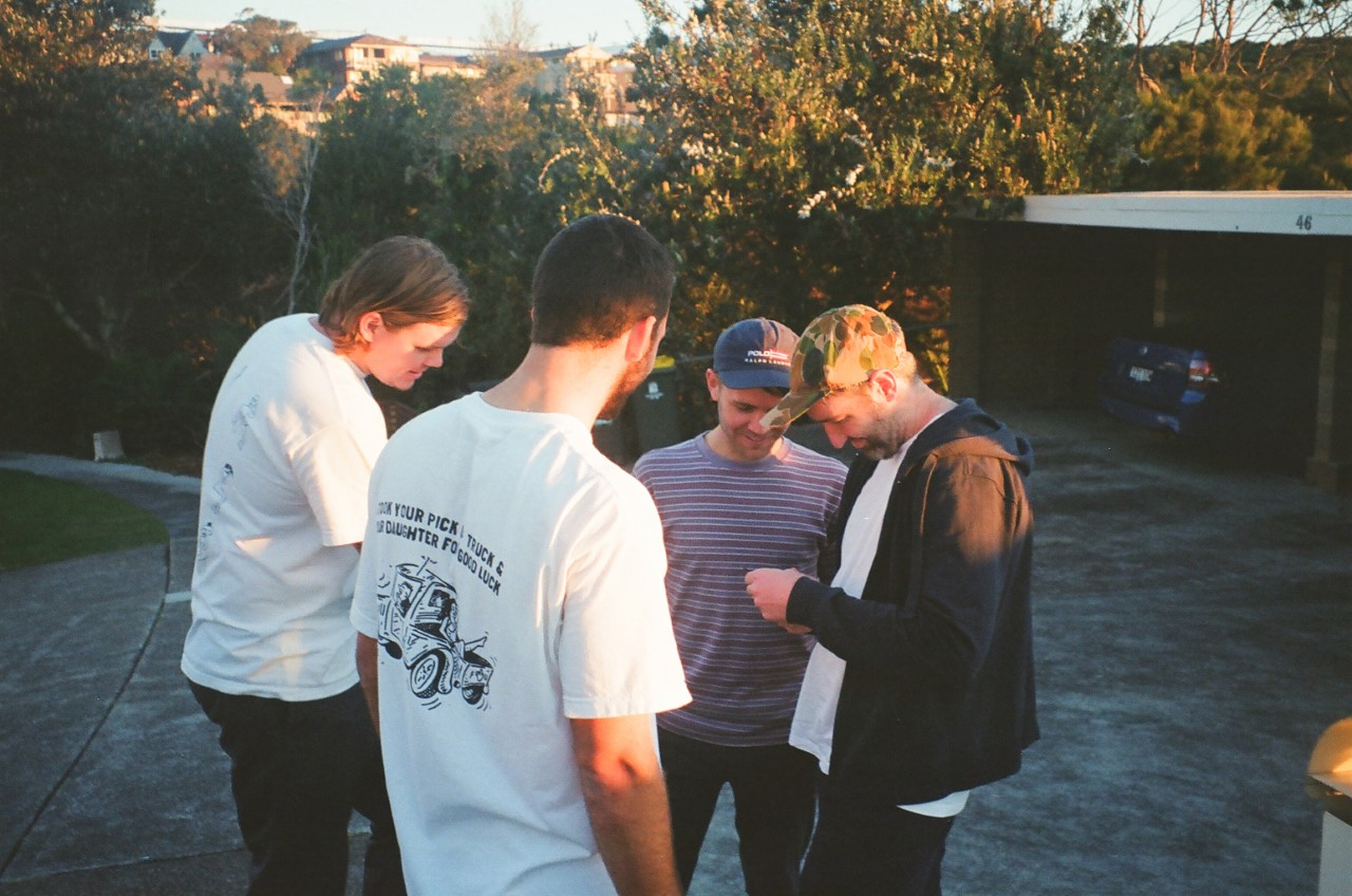 Juice Crew: L to R - Nash, Justin, Jason and Jim