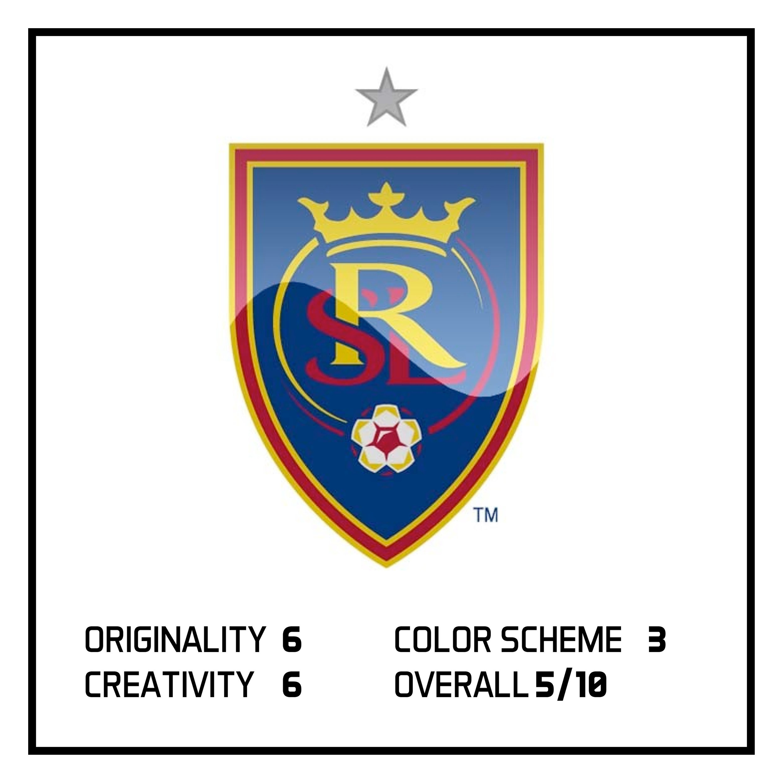 In Monday's post, I ranked Real Salt Lake as the bottom 5 logos in the MLS.  View here