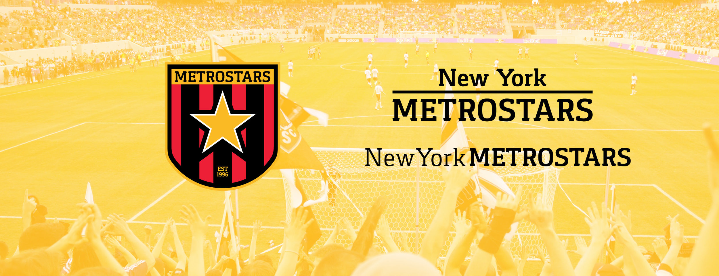 Rather than compete with NYCFC with having New York in its name, I eliminated it from the badge. It's not needed.