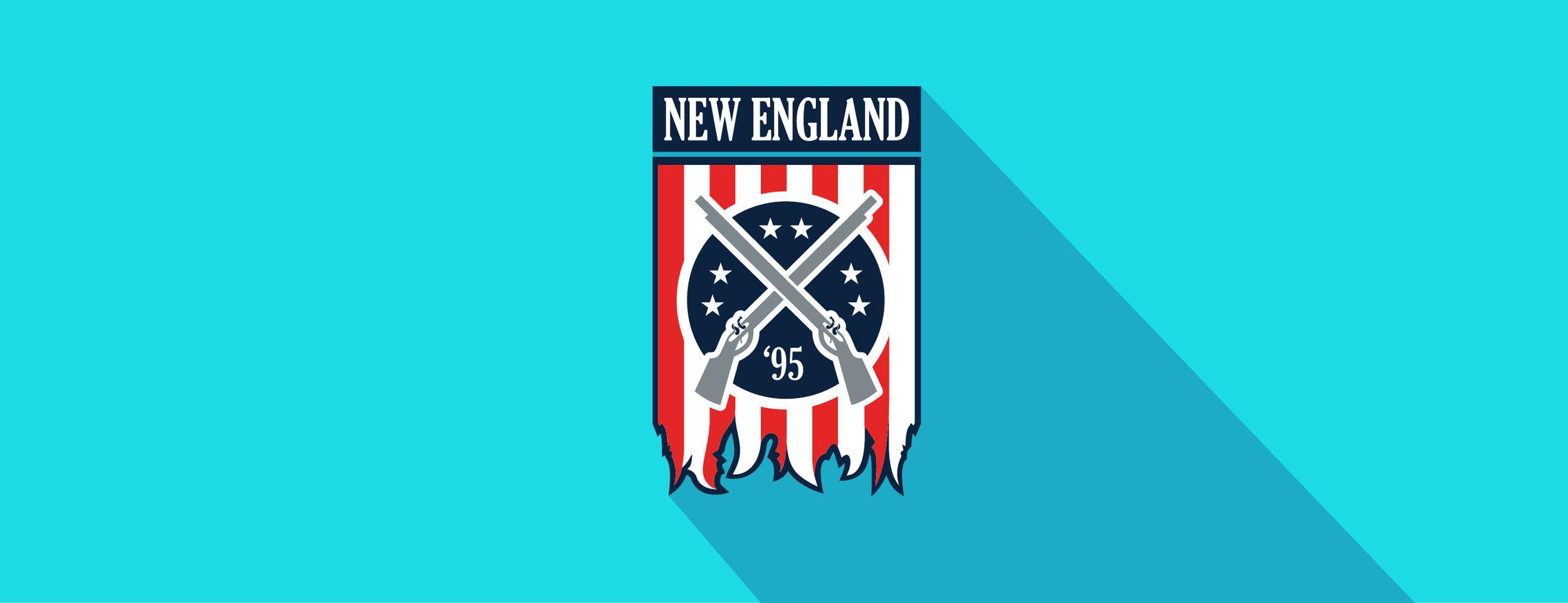 New England Revolution, re-brand mock-up.