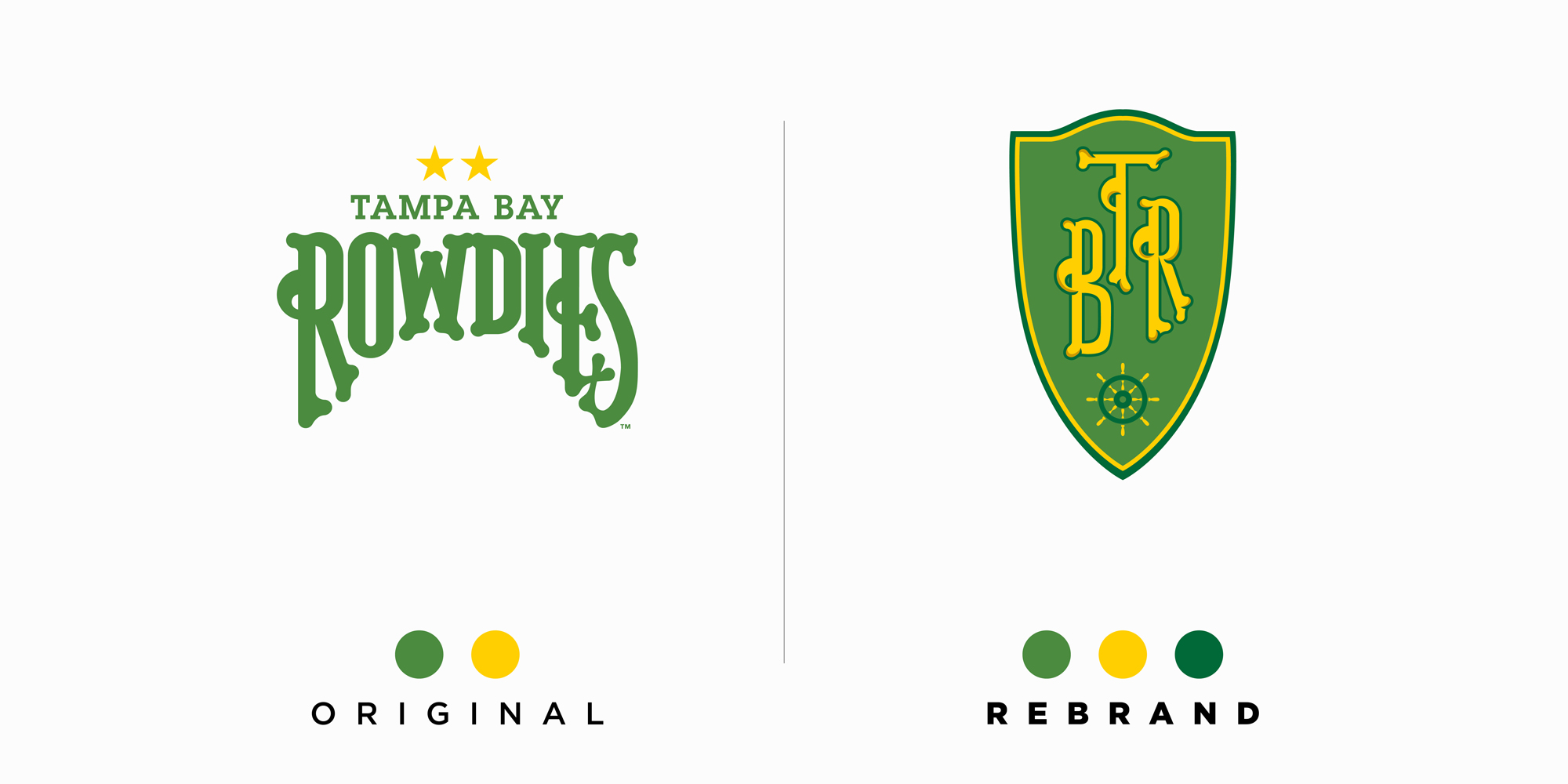 tampa bay rowdies rebrand design by alva tampa bay rowdies rebrand design by alva