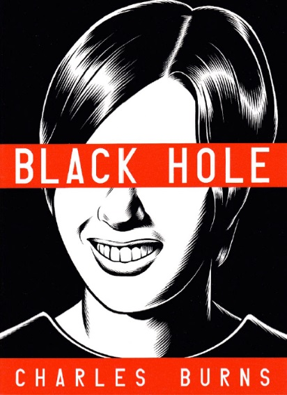 5) Black Hole - Set in the 1970's, Black Hole is about a group of teenagers in a suburban town who are all becoming infected by an unknown disease that is transmitted through sex. The disease causes the inflicted to grow random physical mutations, and as a result they are ostracized and humiliated. Charles Burns' graphic novel is a simple yet unique take on the coming of age trope that captures the primal anxiety of being a teenager abruptly confronted by sexuality, adulthood, and identity.