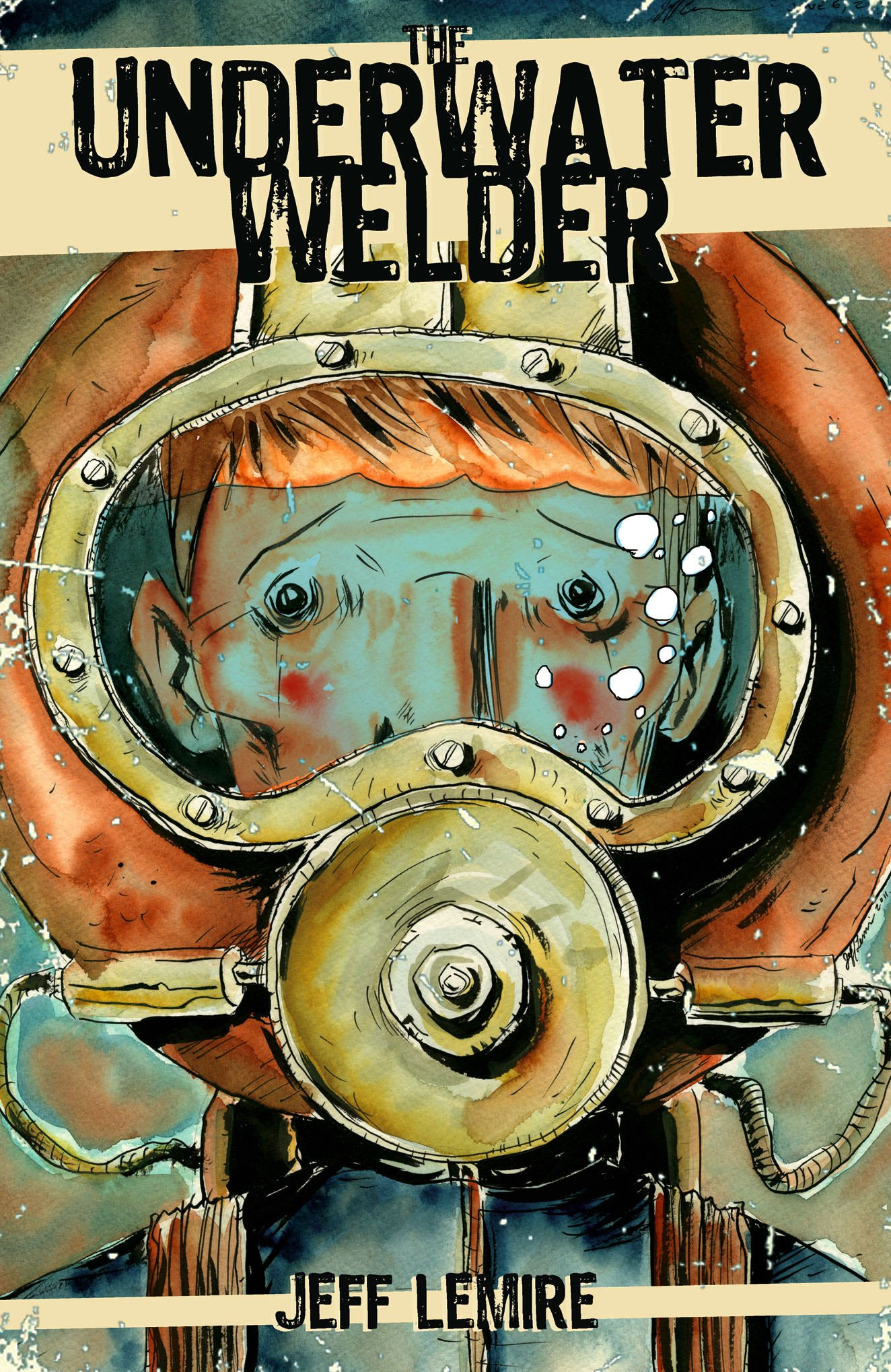 8) The Underwater Welder - The Underwater Welder is a wonderful story on so many levels. It follows the character of Jack Joseph, who, like his father, is an underwater welder that uses his job as an excuse to spend time away from his pregnant wife and the fear of fatherhood. Jeff Lemire's graphic novel is a heart-wrenching tale of father and son buoyed by a magnificent use of the medium. It ingeniously manipulates artistic techniques and panel design to shape the tone, an example being the portrayal of land and home as sharp and confined, whereas the ocean is open and dreamlike. Ultimately, these two worlds collide as Jack is forced to reconcile his father's disappearance and his own childhood with the approaching birth of his son.