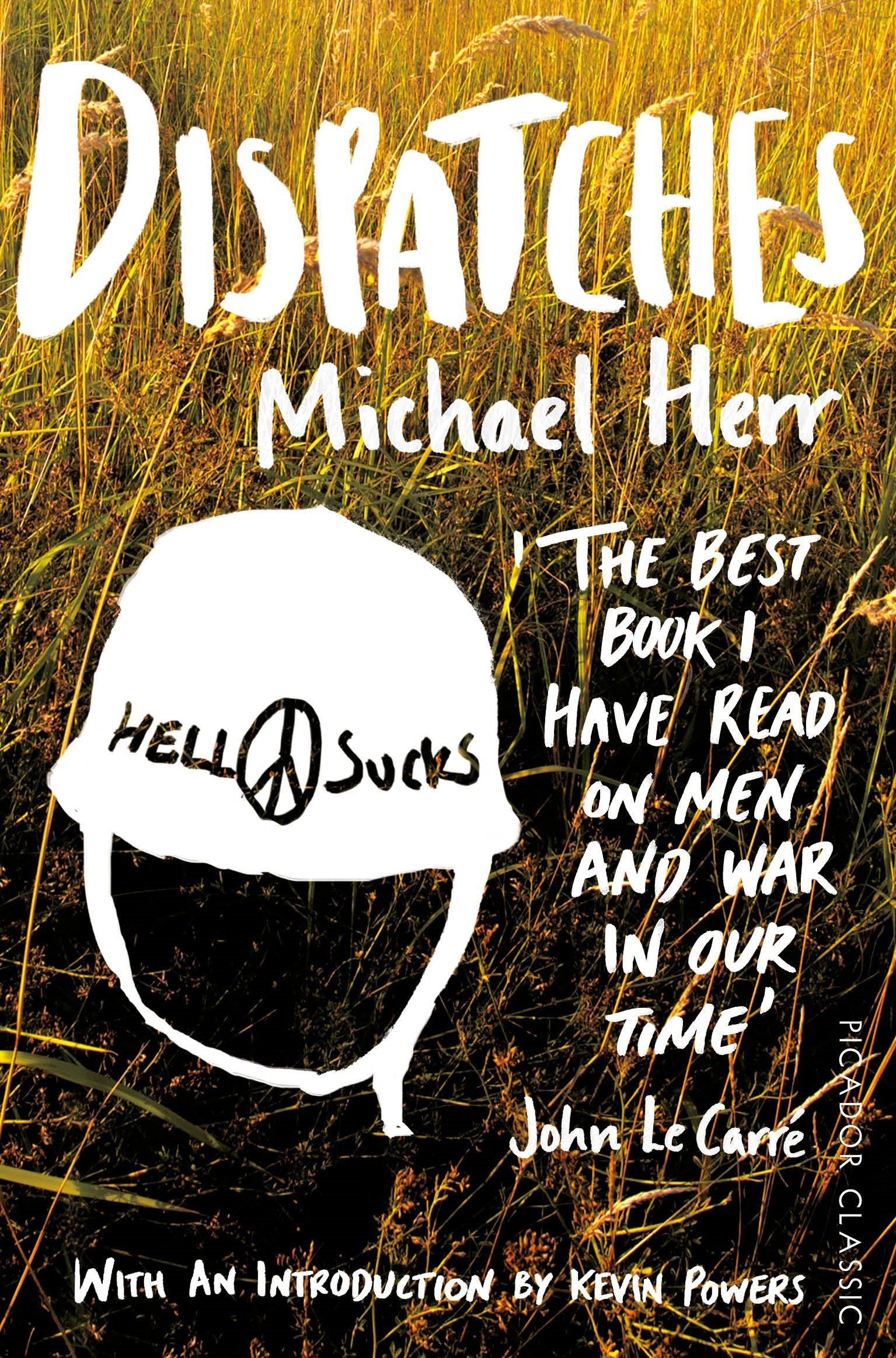 9) Dispatches - Michael Herr has many accolades in his career, some of which include co-writing the script for Kubrick's Full Metal Jacket (1987) and narrating part of Coppola's Apocalypse Now (1979). However, Dispatches is by far his most important work. A collection of stories that detail his time as a correspondent for Esquire during the Vietnam War, Dispatches is a distinctive combination of fiction and non-fiction. By occasionally attributing real dialogue to fictional characters and settings, Herr is able to deliver a remarkable account of the lives of American soldiers in Vietnam. Hellish, funny, immersive, and poetic, Dispatches is must-read novel (which it more or less is).