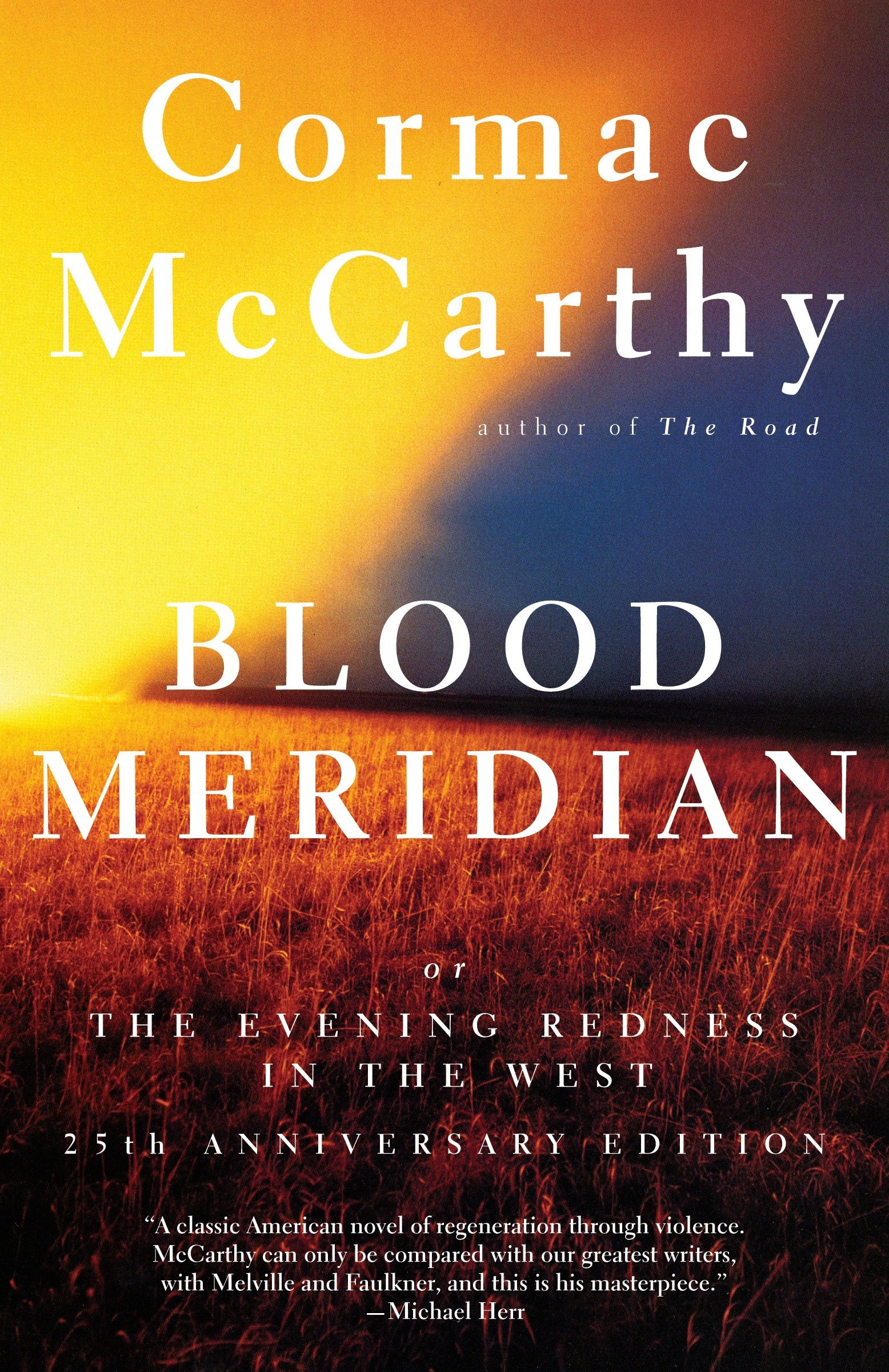"""12) Blood Meridian - Cormac McCarthy is one of if not the best living author, but you probably already knew that. His undisputed masterpiece, Blood Meridian is an exceptionally unique novel that follows a character named """"the kid"""" who falls in with a band of Native American scalp hunters along the Texas-Mexico border. Blood Meridian has no real protagonist (or at the very least there's no internal dialogue for the protagonist), and the antagonist, while incredibly potent, has the truth depth of his vileness buried in the subtleties and themes of the story. These warped character roles are some of the many tools used to drive home concepts of manifest destiny, the corruption of the American dream, and the abstract yet complete death of people and places. Blood Meridian is so incredible because it's so many things - it lives in a space of multiple genres while incorporating and manipulating a universally resonant scope. Truthfully, it has a case for being the best novel of the 20th century."""