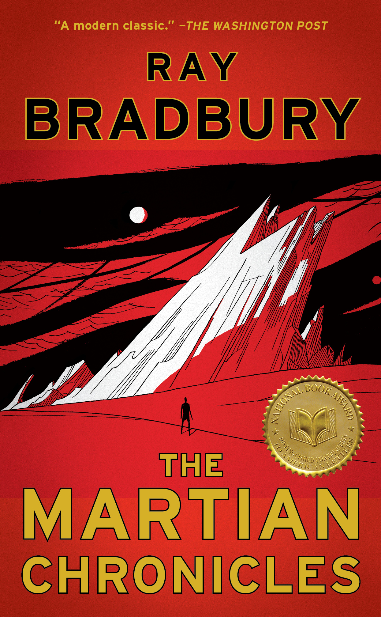 """14) The Martian Chronicles - There are probably better Bradbury novels than The Martian Chronicles - Fahrenheit 451 and Something Wicked This Way Comes to name a few. Still, The Martian Chronicles is worth reading because it's Bradbury at his most sprawling and poignant. Each story lives in its own distinct space at the intersection of humanity and the alien unknown, but what truly makes the The Martian Chronicles powerful is the forlorn way in which change abandons and disparages the past. This quote from the novel sums it up perfectly: """"All the things which had uses. All the mountains which had names. We'll give them new names, but the old names are there, somewhere in time..."""