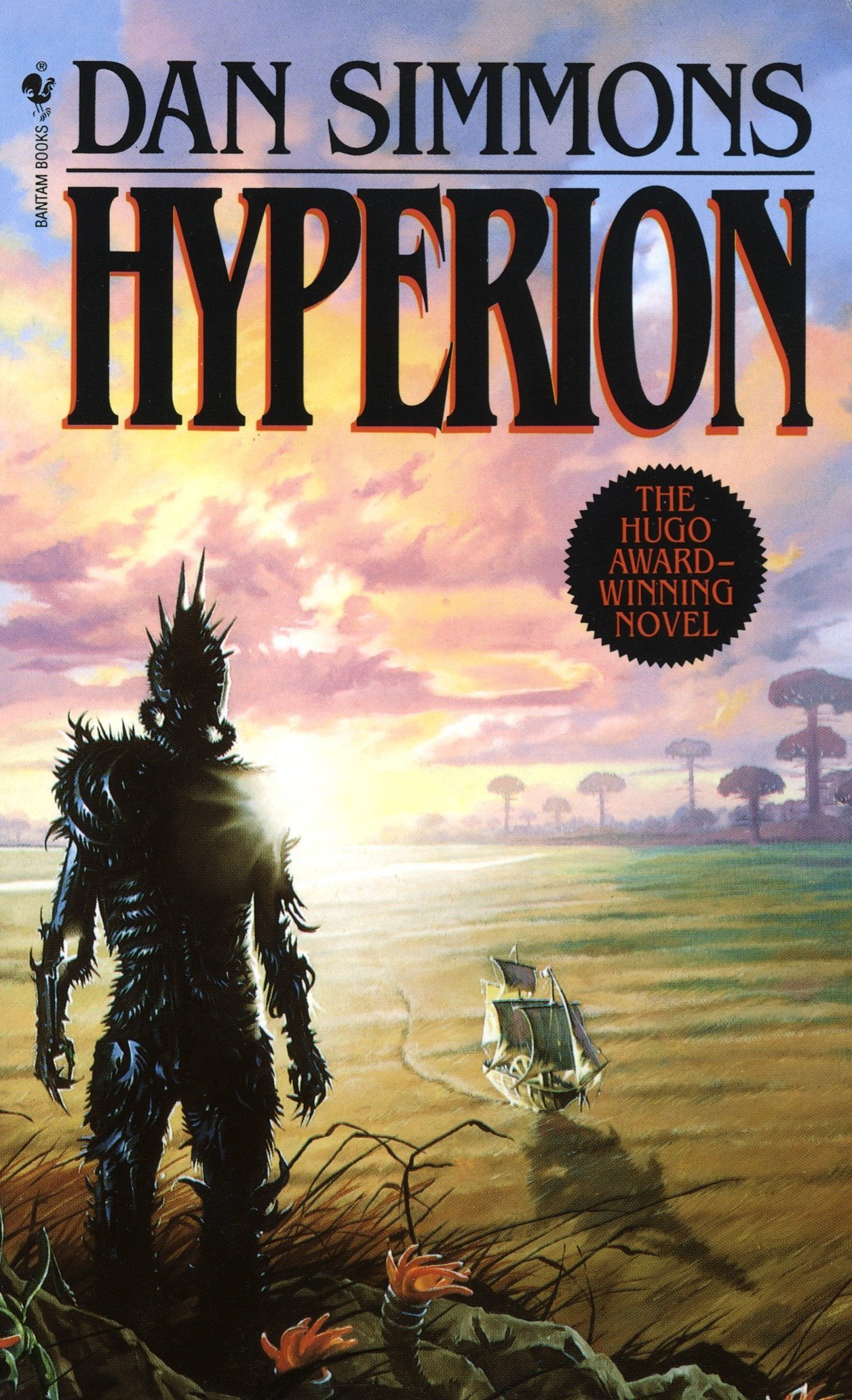 16) Hyperion - Dan Simmons' Hyperion is most often described as a sci-fi Canterbury Tales. Truth be told, that's underselling it. The novel is about a group of travelers making a pilgrimage to the Time Tombs on planet Hyperion, wherein each pilgrim will make a request to a creature called the Shrike. However, legend has it that the Shrike only accepts one of the pilgrim's requests and kills the rest of the group afterwards. The novel is broken up into each traveler's story in which they reveal why they're on such a desperate journey. When it comes to world building, character development, and originality, it's hard to top what Simmons has accomplished with his debut novel. An incredibly stylistic novel that's packed with literary references, Hyperion is one hell of a page-turner.