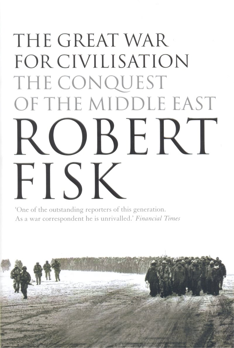 17) The Great War for Civilisation - A British journalist and war correspondent in the Middle East for nearly 45 years, Robert Fisk's The Great War for Civilisation paints a haunting picture of the Middle East and western intervention starting from WWI. The book doesn't pull any punches, and is a paragon of engaging and informative journalistic writing. It is important to note there are a handful of incorrect details in the text, mostly dates and historical facts, but they don't detract from what is necessary reading for all western audiences.