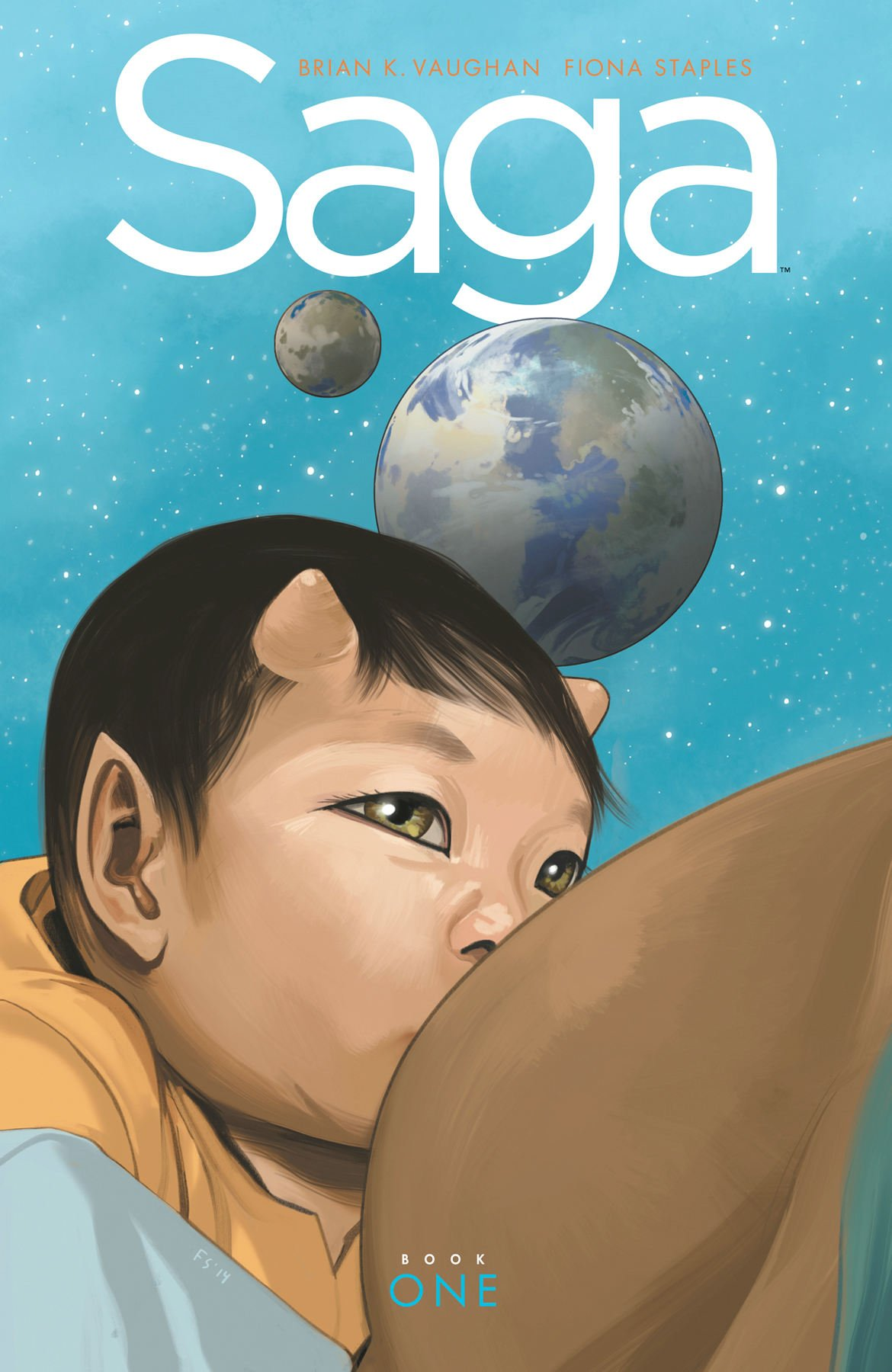 18) Saga (Series) - Read Saga. Read Saga. Please read Saga. Brian K. Vaughan and Fiona Staples' on-going series is probably the best thing to happen to graphic novels since Neil Gaiman's Sandman (appearing later in this list), and is unrivaled when it comes to character development, plot pacing, and emotional maturity. It's funny, dark, heartbreaking, uplifting, beautiful, grotesque, and razor sharp. It's just so good. The art and coloring are also gorgeous and imaginative, and in combination with the writing make Saga the pinnacle of the graphic novel medium. Seriously, just check out this awards list.