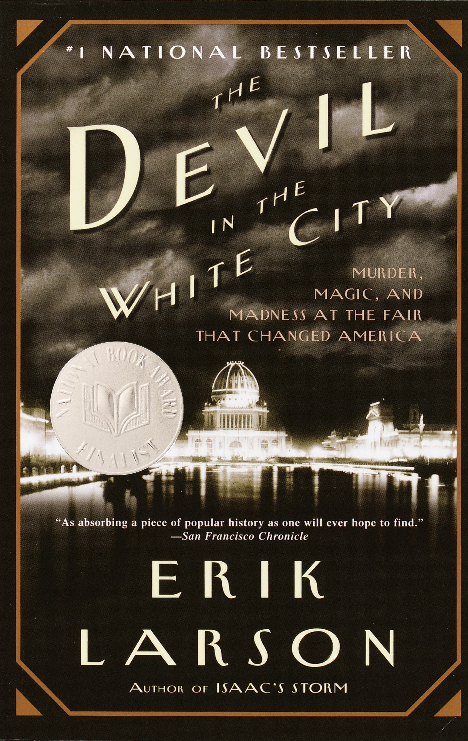 19) The Devil in the White City - Erik Larson's Non-fiction novel is one of the best displays of how effective and engaging the genre can be. Based on real characters and events, Larson tells a magnificent true story set in 1893 that shifts back and forth between Daniel H. Burnham, the architect behind the Chicago World's Fair, and Dr. Henry Howard Holmes, a serial killer who used his elaborate and convoluted mansion to murder his victims. The Devil in the White City plays with the comparison between the two men's fanatical goal of building something they consider to be perfect to great effect, and the deeper in the novel pulls, the more amazed you'll be that it isn't fiction.