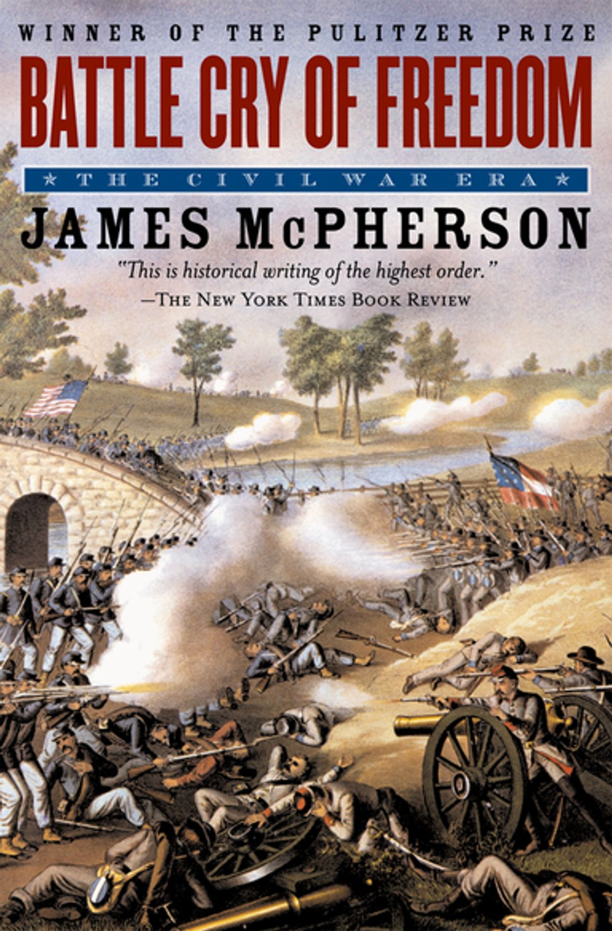 21) Battle Cry of Freedom - Even if you aren't particularly interested in the American Civil War era, Battle Cry of Freedom is still worth your time simply because it's the pinnacle of historical non-fiction. James McPherson's 1988 text is remarkably sharp despite its age, and is probably the best single volume history book of all time. It's unbiased, fair, scathing when necessary, incredibly well researched, and despite its sprawling and complex subject matter, a very easy read. For anyone interested in American history it's an absolute must-read, and even if you aren't chances are it'll change your mind.