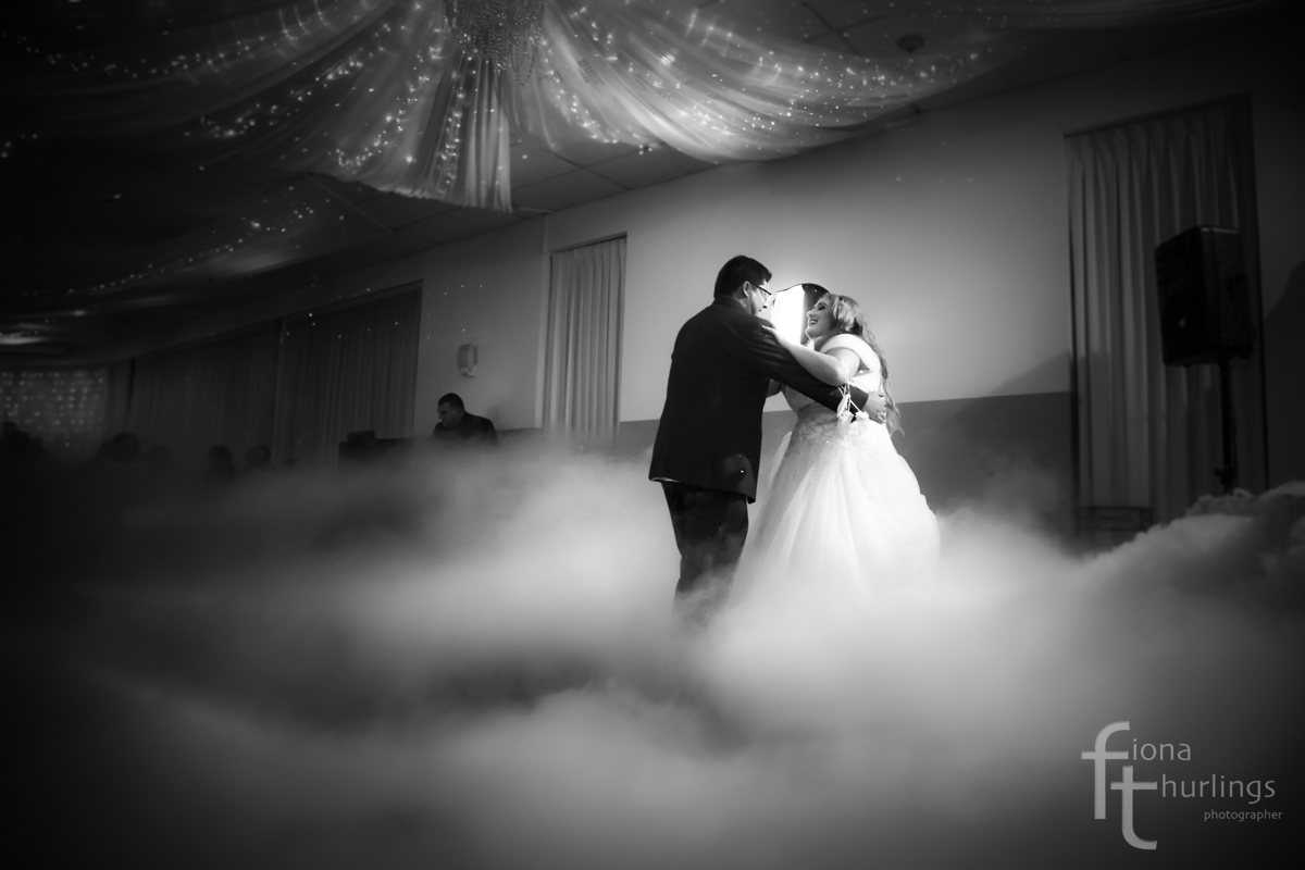 First dance as a married couple at Sfera's Function Centre