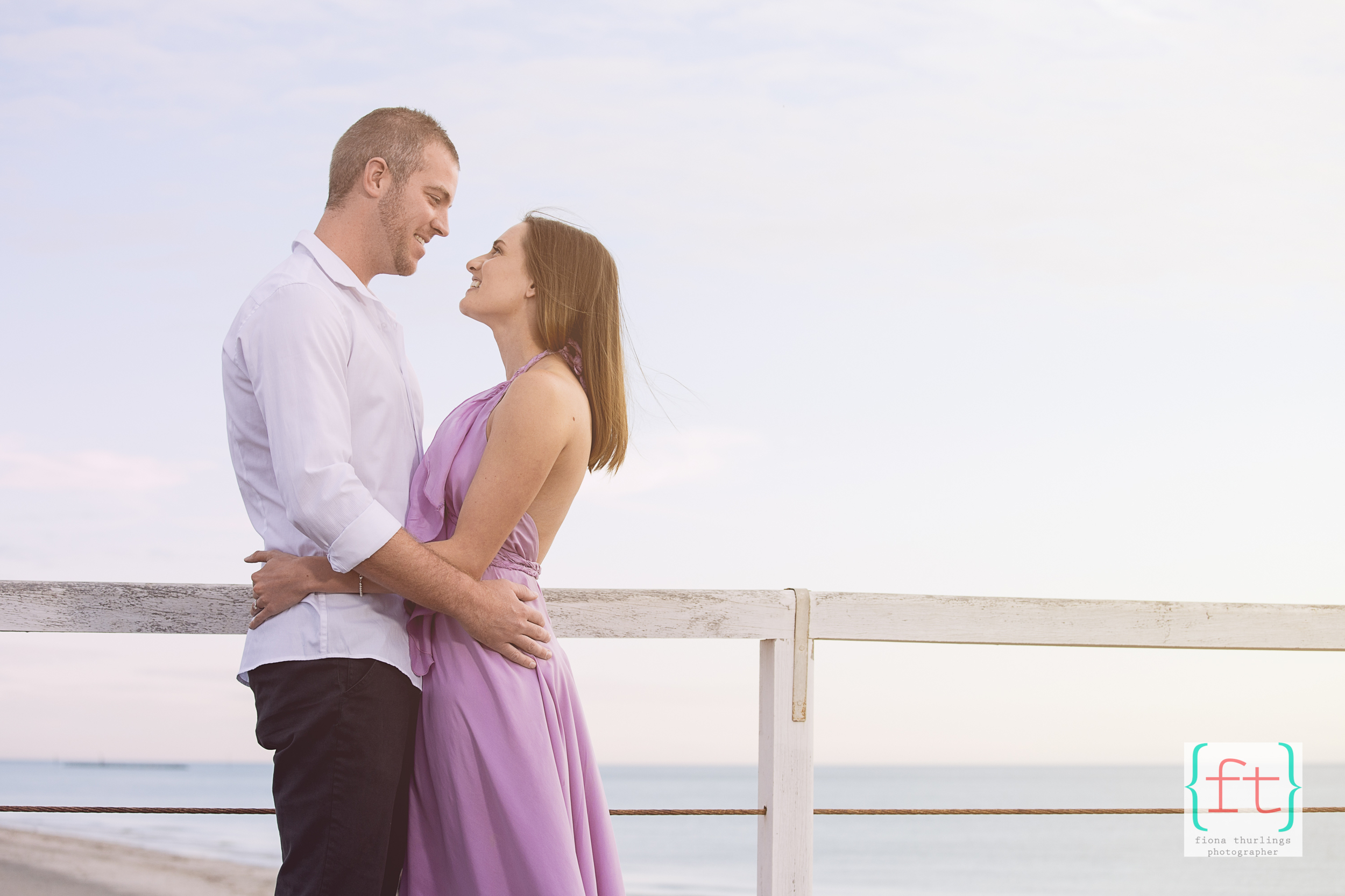 Gorgeous Sarah & Ryan, in what was a memorable engagement shoot