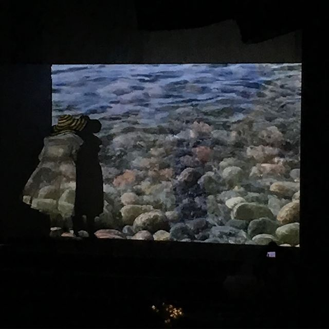 i remember the first time when i saw joan jonas' videowork two years ago, and i feel lucky & honored to see her performance in person ! i want to be as cool and cute and charismatic as her when im 82 years old tooo haha 🐟🐠🐳🐬🐋 thank uuu @domoradova