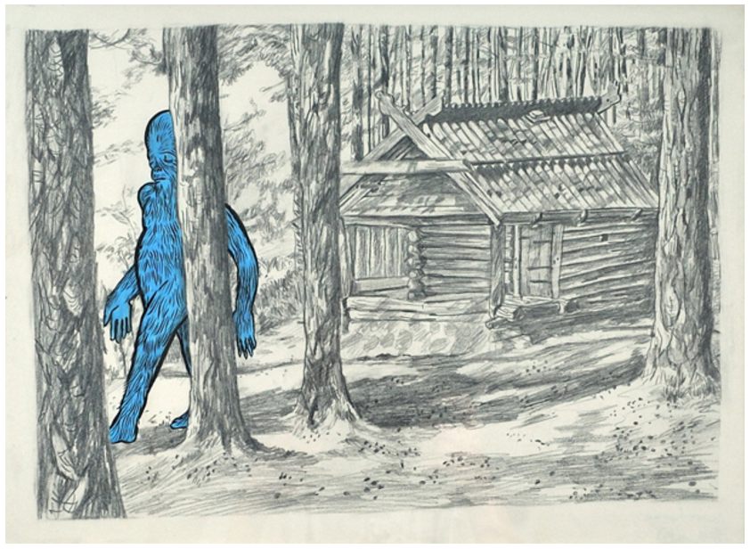 The Blue Big Foot