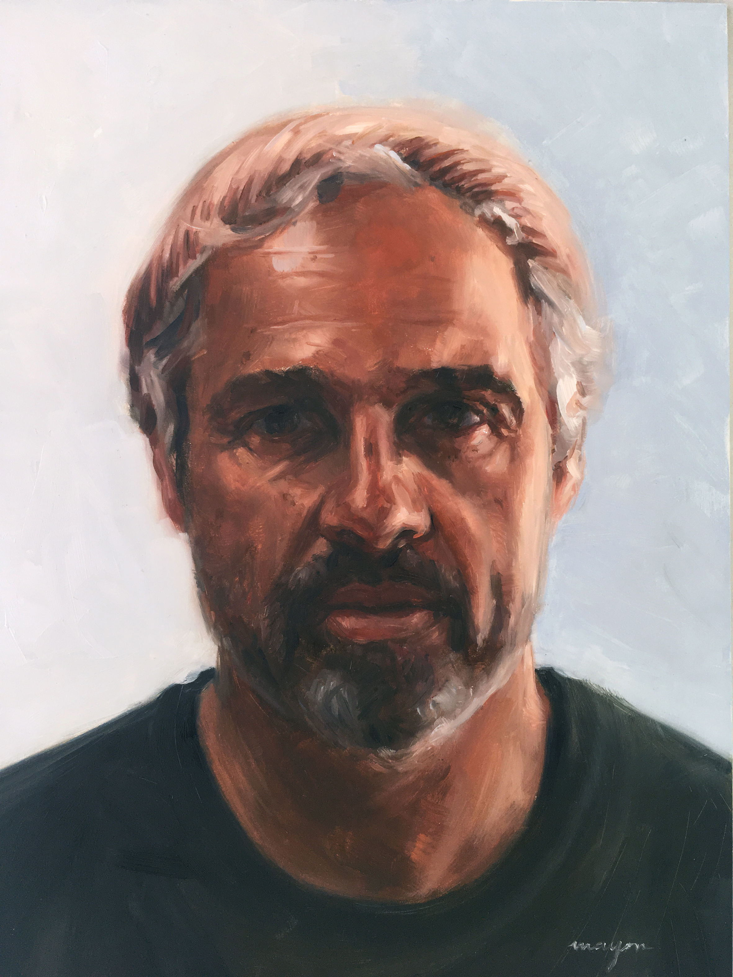 Gary    Oil painting on Panel