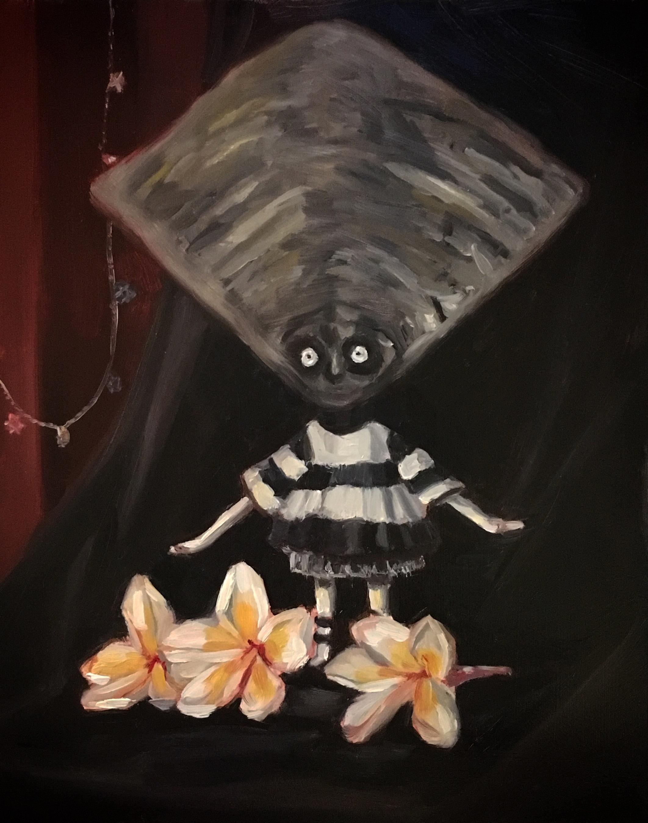 L'enfant Huitre a la fleure-stilllife-Mayon Hanania.jpg