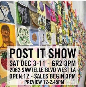 POST IT Show #12, Los Angeles, CA