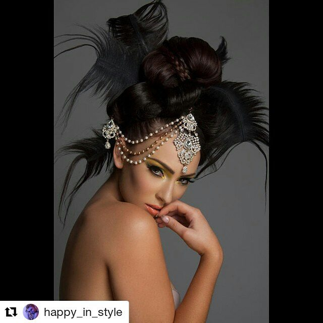 #Repost @happy_in_style (@get_repost) ・・・ Asiaglam Beauty Editorial  Model @anastasiabsmith Photography @happy_in_style  Head Accessories @shena.matin #hair #skin #style #asianwomanmagazine #accessories #beauty #glamour #avantgarde #hairstyle #london #model #photoshoot #style #fashion #creative #highfashion