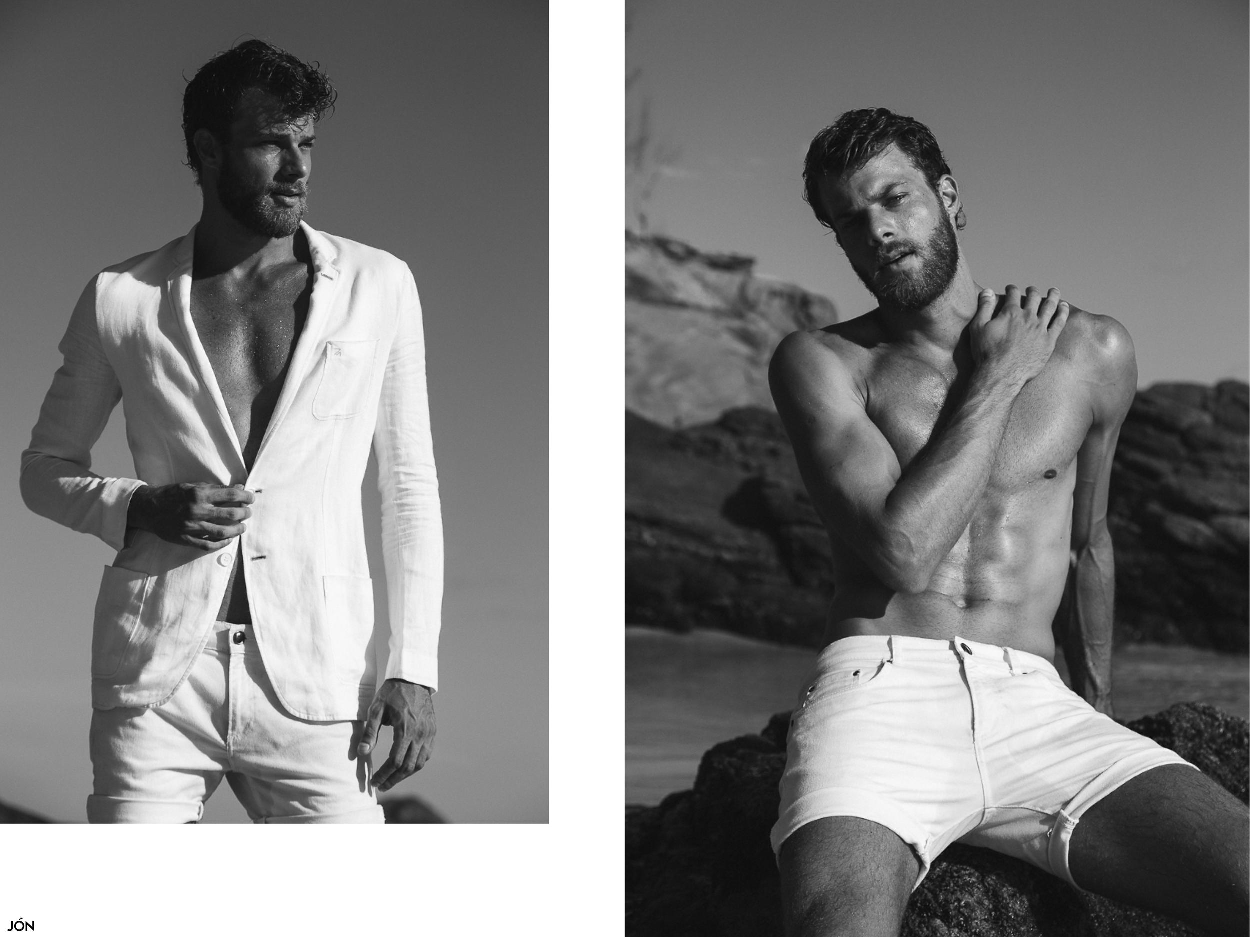 Blazer by  Ricardo   Almeida  ,shorts by  Zara