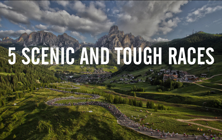 5 scenic and tough races