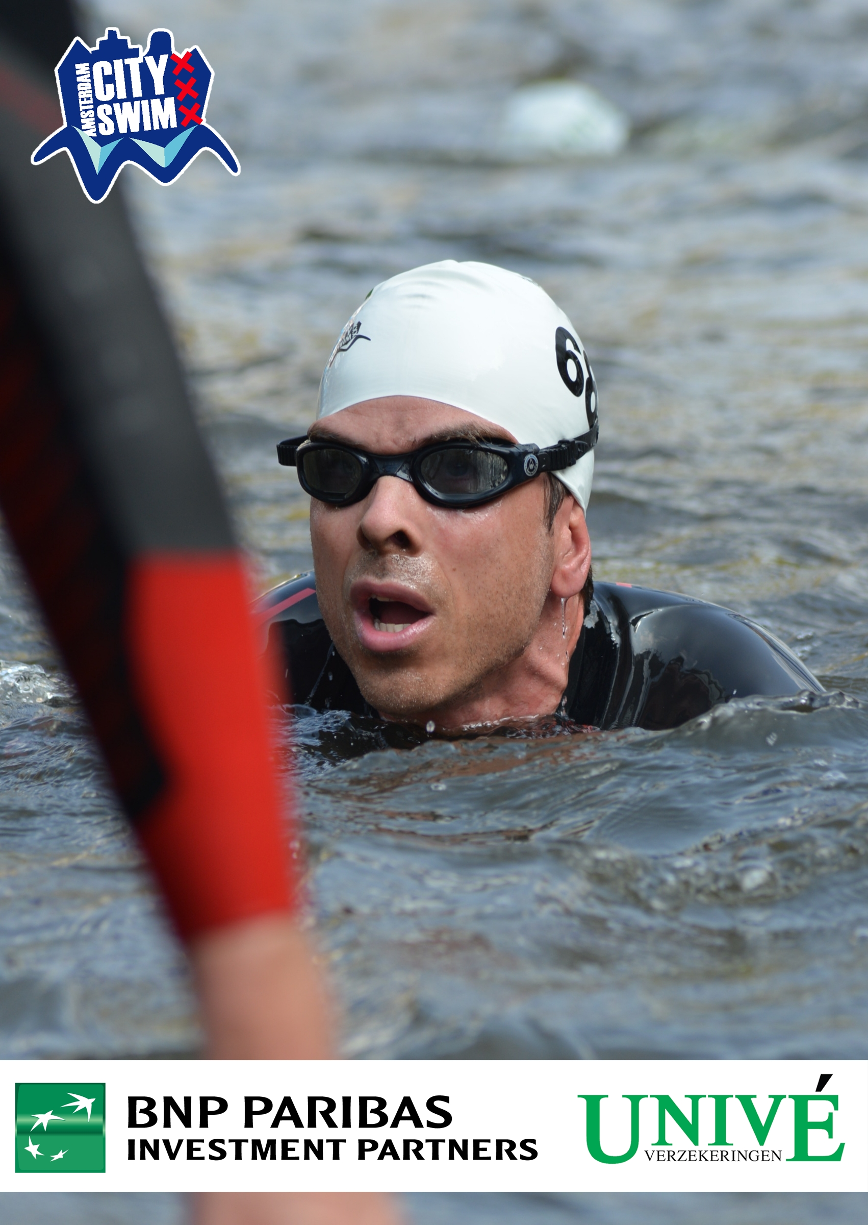 Finished 2.014 meters in 32:50 minutes. In a field of 2.018 swimmers I finished in 46th place
