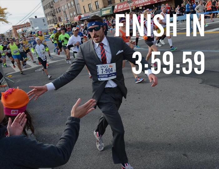 sub 4 hours marathon