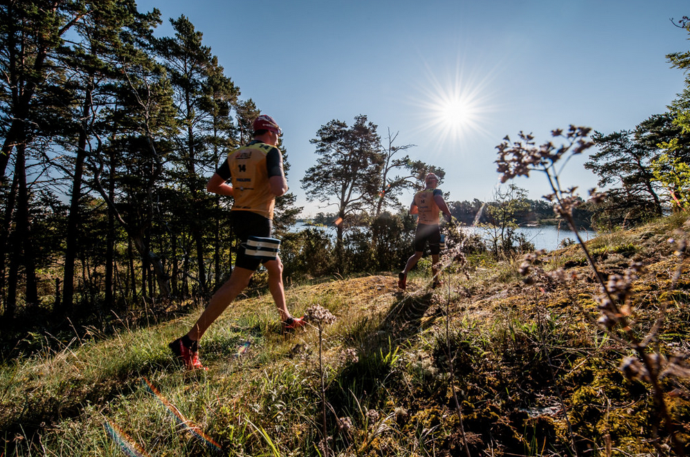 As you can see ÖtillÖ is not just about swimming, competitors need to cover 65 kilometers of running